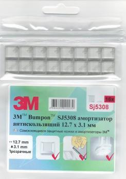 Амортизатор 3M™Bumpon™ SJ5308, 16 шт.